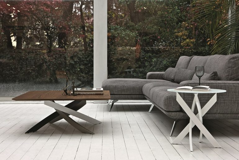 Coffee table: between elegance and practicality