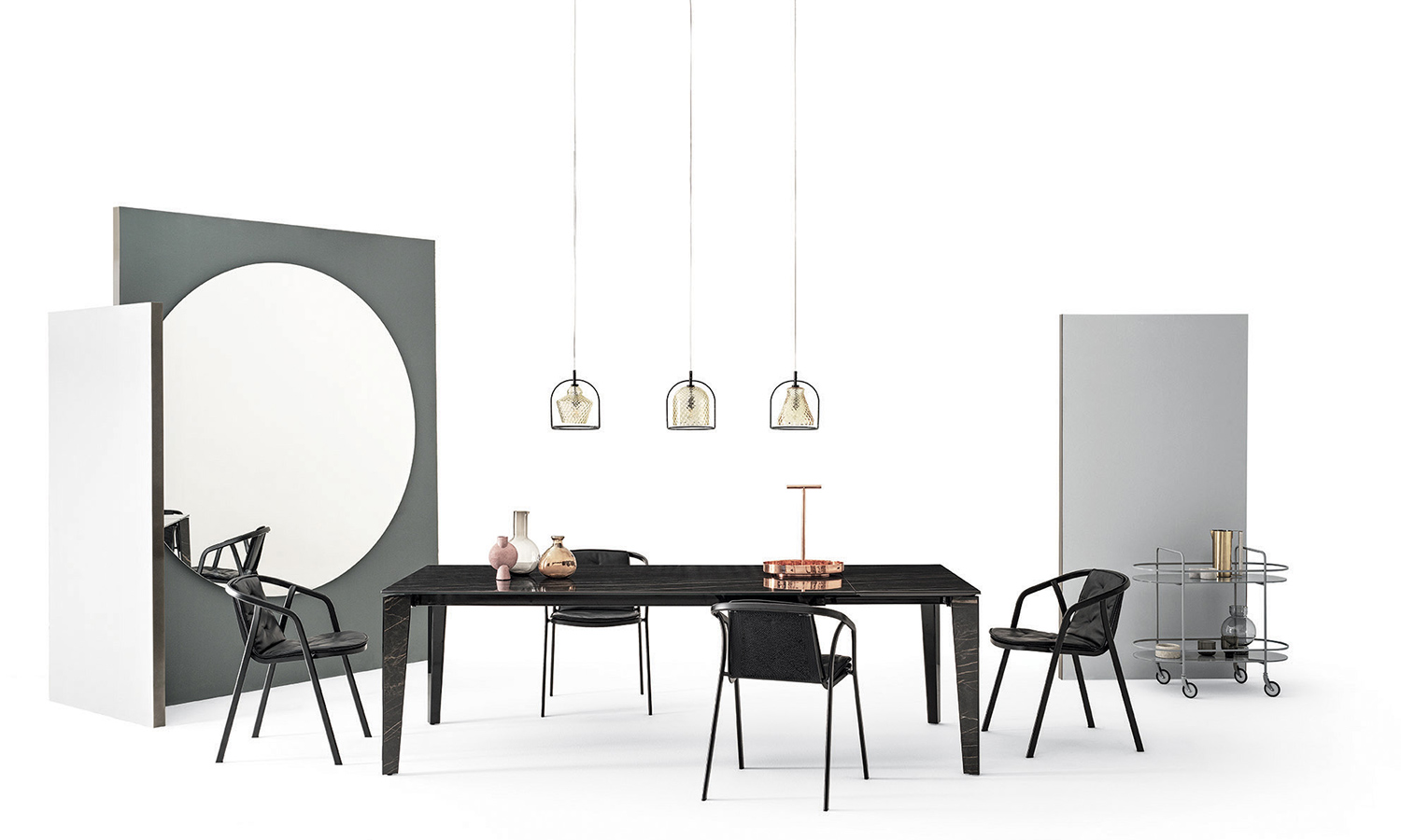 Soul, Funky and Swing pendant lamps